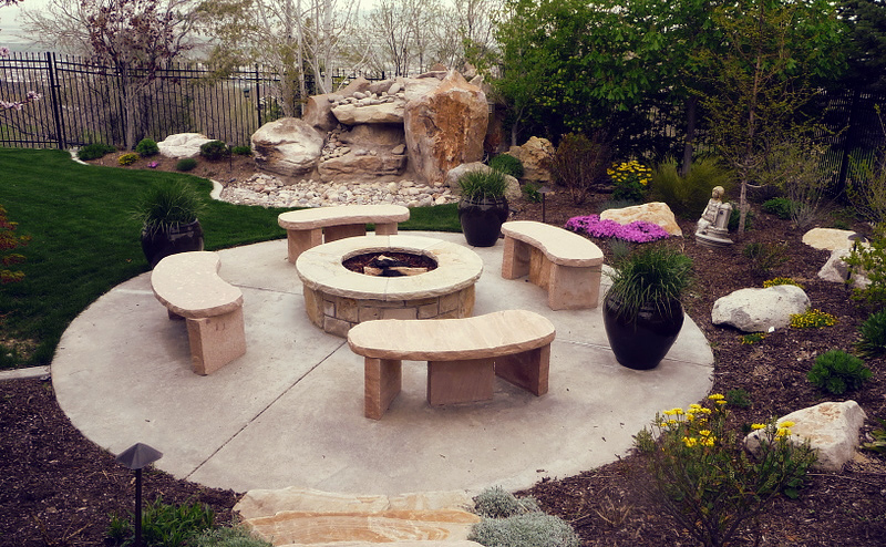 Salt Lake City Patio - Salt Lake City Patio – Richter Landscape, Inc.