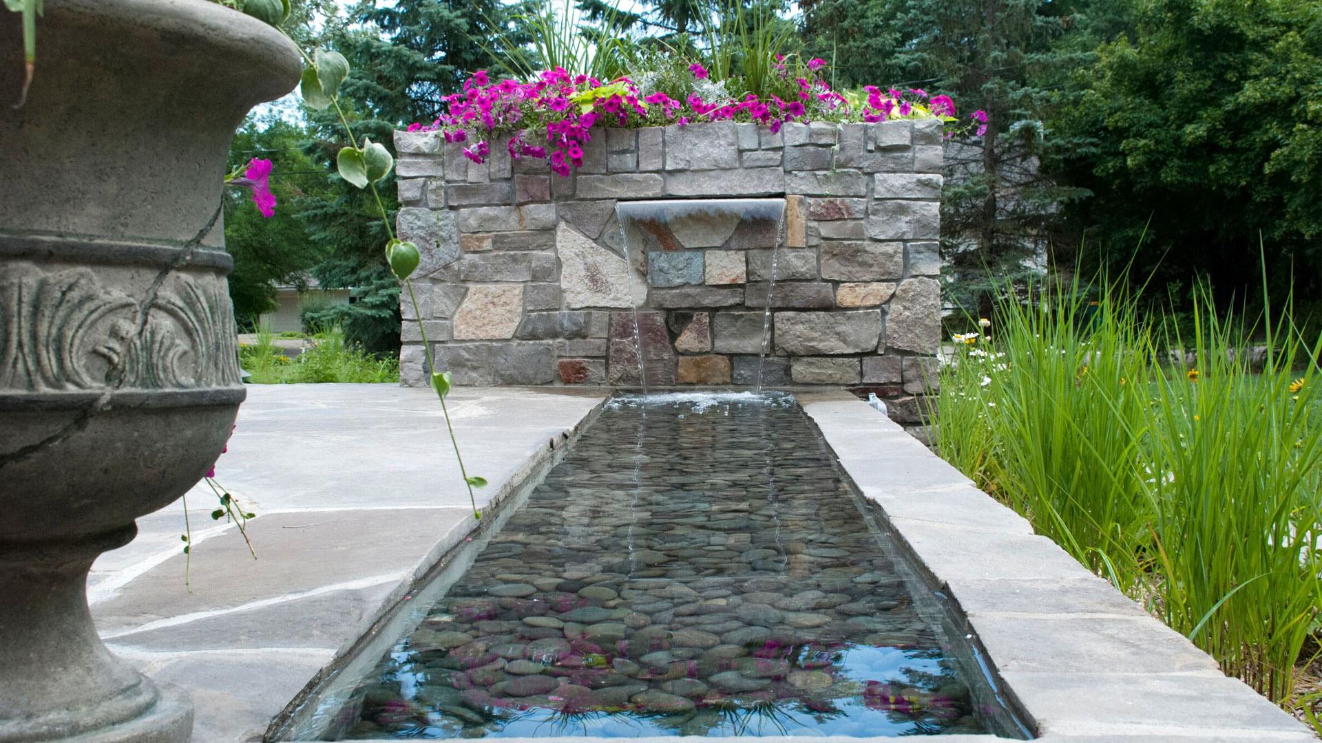 Salt Lake City Water Feature Ideas Richter Landscape Inc