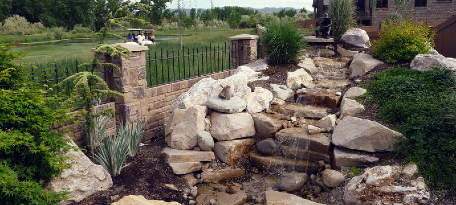 Water Features, Waterfalls, Streams, Ponds
